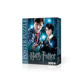 Harry Potter - puzzle poster Wrebbit 500 pièces
