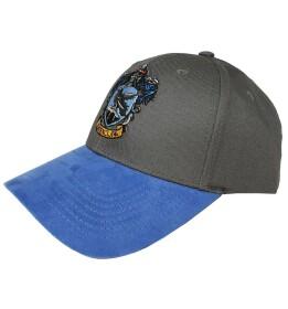 Casquette Serdaigle bleue et grise visière arrondie
