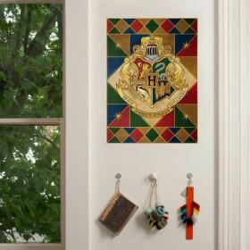 Poster Armoiries de Poudlard MinaLima