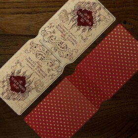 Porte-cartes La Carte du Maraudeur MinaLima