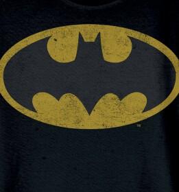 T-shirt Batman modèle enfant logo grunge