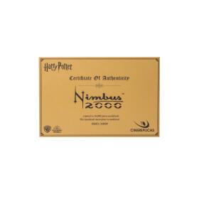 Réplique Collector du balai Nimbus 2000 nouvelle édition