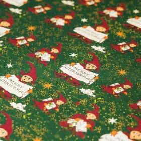 Papier cadeau Lutin de Noël