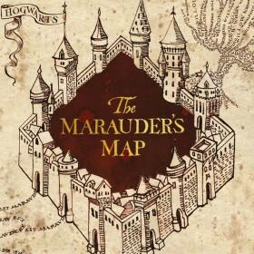 Carte 2 volets La Carte du Maraudeur MinaLima