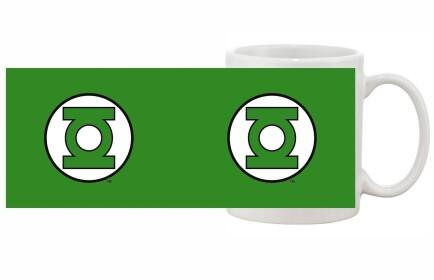 Mug Green Lantern logo