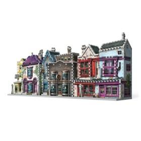 Boutiques Ollivander et Scribbulus – puzzle 3D Wrebbit 295 pièces