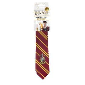 Cravate Gryffondor logo tissé