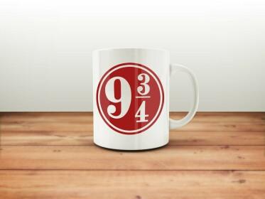 Mug Quai 9 3/4 Blanc