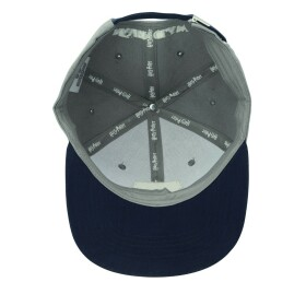 Casquette snapback Serdaigle gris et bleu