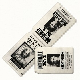Porte-cartes Wanted Sirius Black Harry Potter Indésirable Numéro 1 MinaLima