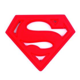 Anneau de dentition en silicone Superman pour bébé