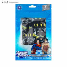 Masque Batman barrière réutilisable noir Tissu AFNOR