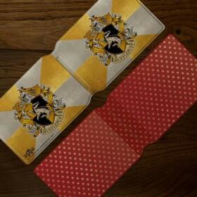 Porte-cartes Armoiries de Poufsouffle MinaLima