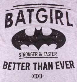 T-shirt Femme Batgirl Gris