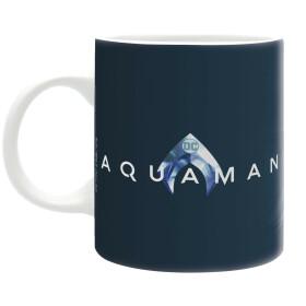 Mug Aquaman fonds marins et logo