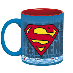 Mug Superman action et logo