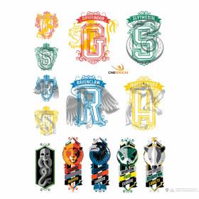 Ensemble de 55 stickers Harry Potter