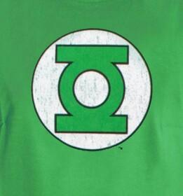 T-shirt Green Lantern vert logo classique
