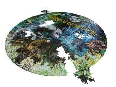 Puzzle Créatures Magiques La Forêt Interdite 500 pièces