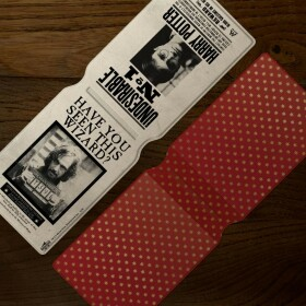 Porte-cartes Wanted Sirius Black Harry Potter Indésirable Numéro 1