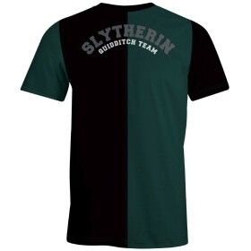 T-shirt Serpentard Quidditch Team vert