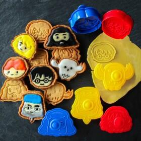 Lot de 6 emporte-pièces Kawaii
