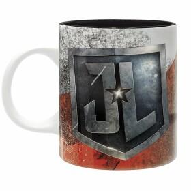 Mug Justice League rouge