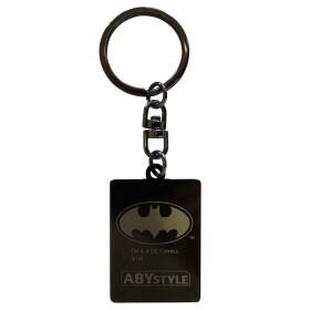Porte clés métal Carte Joker
