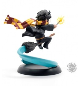 Figurine Harry Potter sur balai Quantum Mechanix Q-Fig