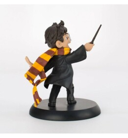 Figurine Harry Potter lançant un sort Quantum Mechanix Q-Fig