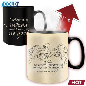 Mug Carte du Maraudeur thermoréactif grande contenance
