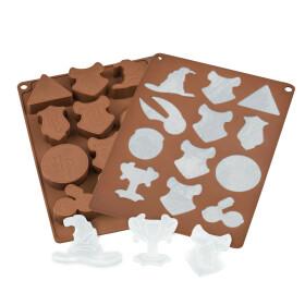 Moule à chocolats et glaçons - Logos Harry Potter