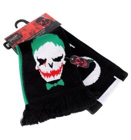 Echarpe Joker logo tête de mort Joker Suicide Squad