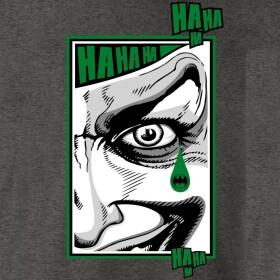 T-shirt Joker Hahaha anthracite-chiné