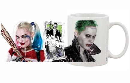 Mug Harley Quinn et Joker carte Joker Suicide Squad