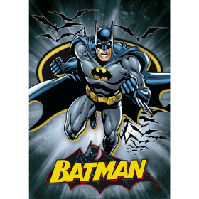 Set 5 cartes postales Batman Superman Flash Green Lantern