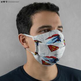 Masque Superman barrière réutilisable Tissu AFNOR