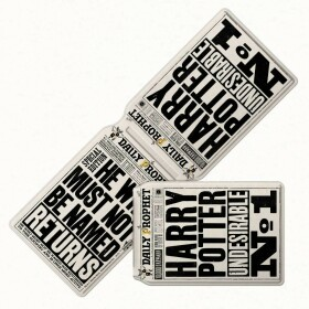 Porte cartes La Gazette du Sorcier MinaLima