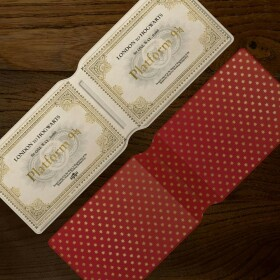 Porte-cartes Ticket Poudlard Express MinaLima