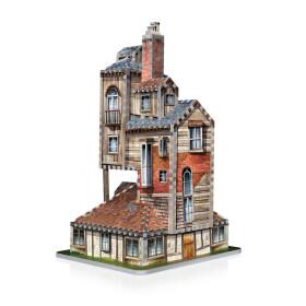 Le Terrier - La Maison des Weasley - puzzle 3D Wrebbit 415 pièces