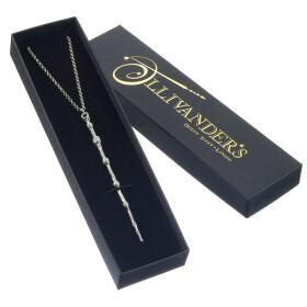 Collier Baguette magique du Professeur Dumbledore dans un coffret cadeau