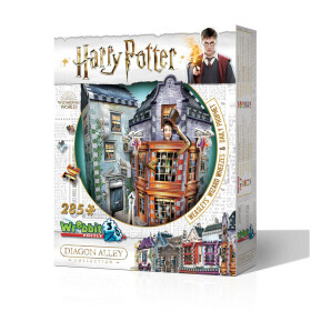 Boutique des Frères Weasley et Gazette du Sorcier Puzzle 3D Wrebbit 280 pièces