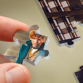 Norbert Dragonneau au MACUSA - puzzle poster Wrebbit 500 pièces