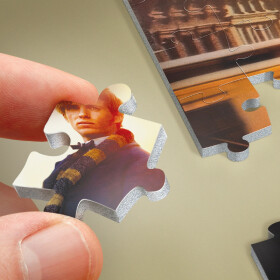 Norbert Dragonneau à New-York - puzzle poster Wrebbit 500 pièces
