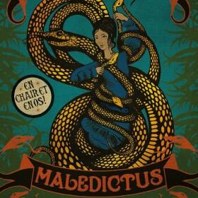 Poster affiche Maledictus du Cirque Arcanus MinaLima