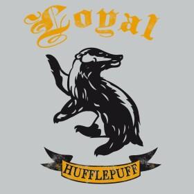 T-shirt Femme Poufsouffle Loyal anthracite-chiné