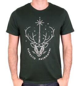 T-shirt Expecto Patronum vert