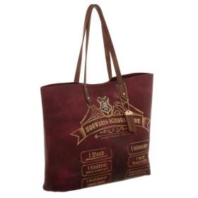 Cabas - tote bag liste de fournitures pour la rentrée à Poudlard