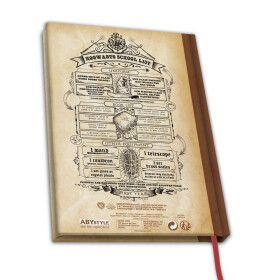 Cahier A5 Hogwarts SchoolSpells and Charms