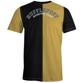 T-shirt Poufsouffle Quidditch Team Jaune